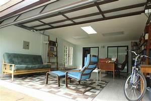 Garage Conversion - Contemporary - Home Office - los