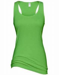 HITNT — Women s Racer Back Tank Top Lime Green Black
