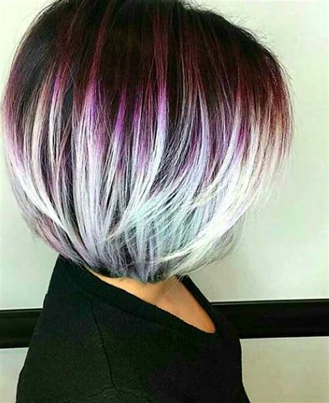 Colored Hairstyles by Nicely Colored Bob Hairdos For A New Style Bob