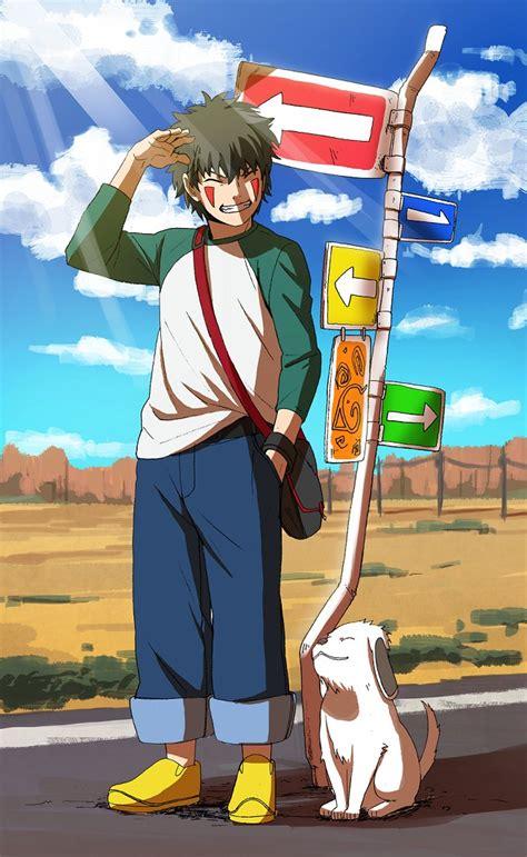 inuzuka kiba naruto zerochan anime image board