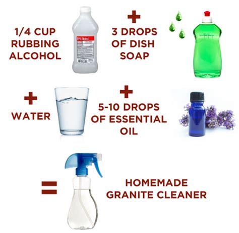 how to make granite cleaner lesher