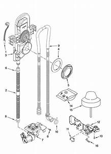 Fill  Overflow And Drain Parts Diagram  U0026 Parts List For