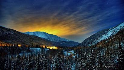 Alaska Wallpapers Winter Nights Wallpapersafari