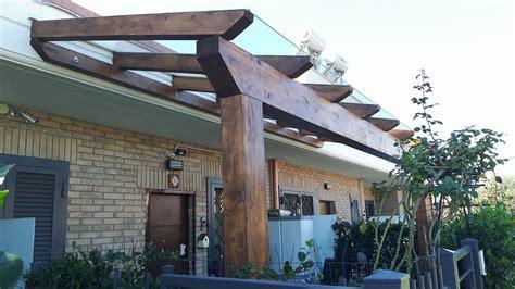 coperture terrazzi roma pergolati in legno lamellare roma ciino tuscolana