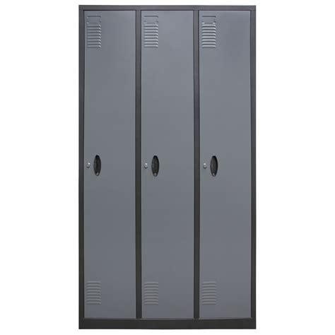 homak 3 tall door steel gun cabinet locker gun safes