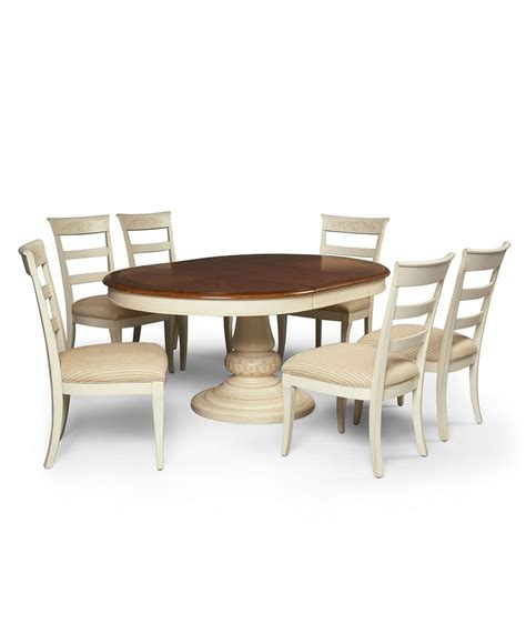 Macy Kitchen Table Sets by Coventry Dining Room Furniture 7 Set Table And 6