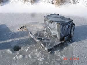 Homemade Ice Fishing Sled Ideas