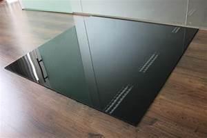 Glasplatte Kamin Vorschrift : rechteck 100x110cm glas schwarz funkenschutzplatte ~ Watch28wear.com Haus und Dekorationen