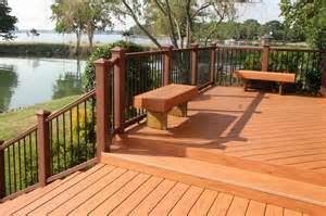 Composite Deck Design Pattern Effective Porch Flooring Options