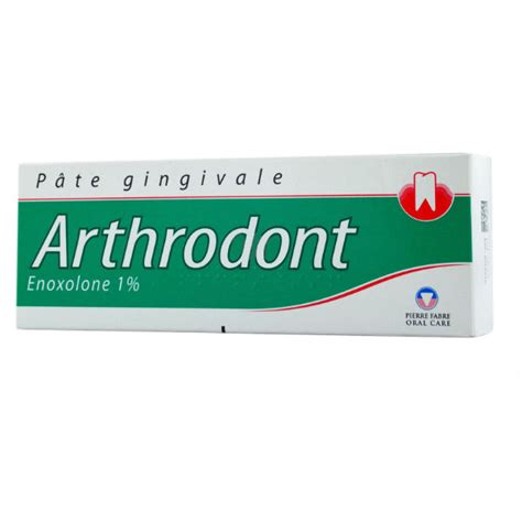 arthrodont 1 pour cent p 226 te gingivale 80 g fabre care pharmacie du centre 80300