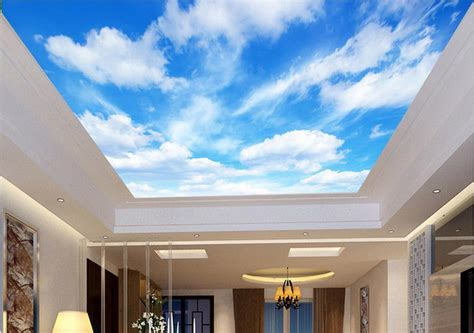 Sky Ceiling by 3d Wallpaper For Ceiling Mural Images