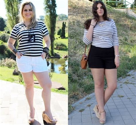 Style Ideas Plus Size Fashion Shorts for Different Occasions | Gorgeautiful.com