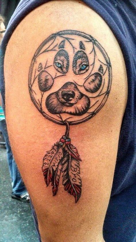 ideas  wolf dreamcatcher tattoo  pinterest