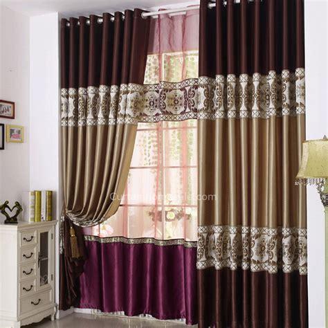 luxe souple faux tissu en soie couture design rideau