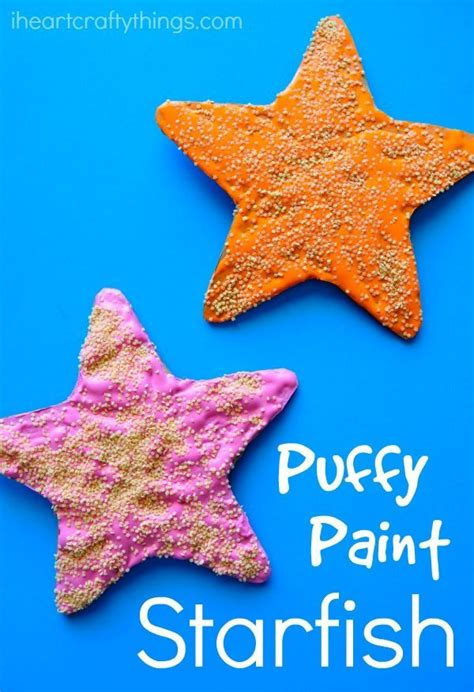paint starfish craft for beautiful crabs and 810 | 69e9073ab60ce29a9fb13dbea05109f9