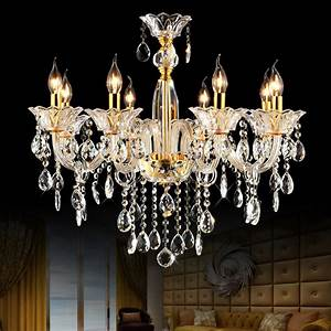 aliexpresscom buy modern glass chandelier bedroom With glass chandeliers for dining room
