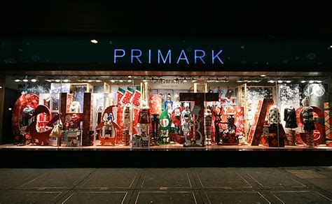 primark christmas shop windows london