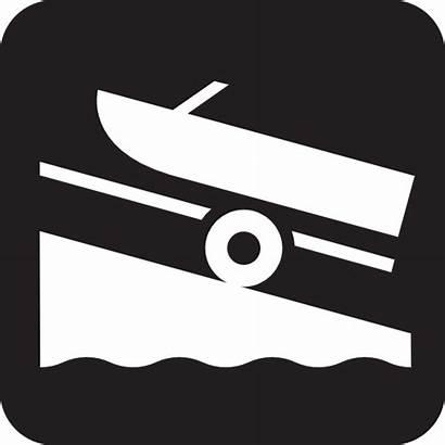 Launch Boat Clip Clipart Vector Svg Symbols
