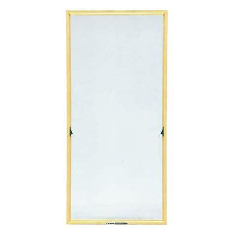 andersen truscene        wood frame casement insect screen cn