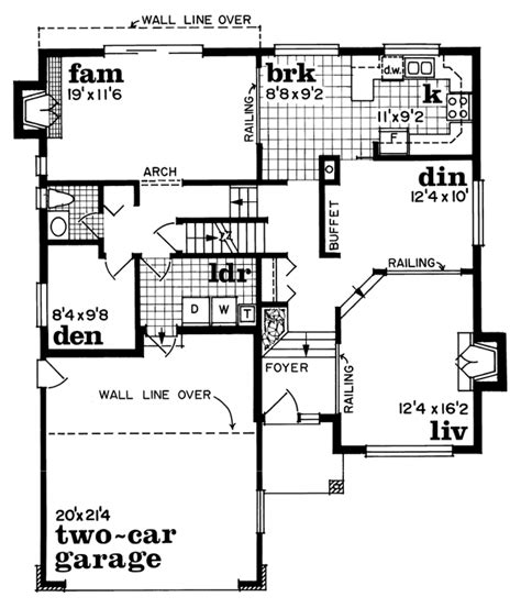 House Plan 55441 Traditional Style with 2003 Sq Ft 3