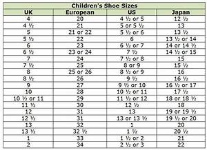 6 Images Kids Shoe Size Conversion Mexico To Us And Review