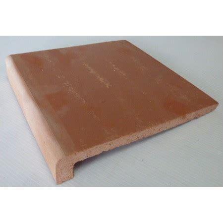 fin de stock carrelage afonso carrelages nez de marche ou appui de fenetre en terre cuite de format 20x20 calaf fin