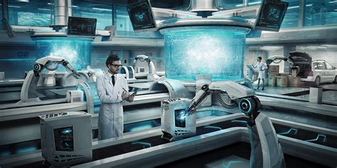 Sci-fi Invasion Laboratories On Behance