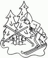 Coloring Skiing Ski Dyscypliny Sportowe Kolorowanki Snow Valley Sci Skifahren Hidden Fun Skier Printable Ausmalbilder Kolorowanka Funny Druku Bowl Winter sketch template