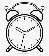 Clock Alarm Coloring Clipart Clipartkey Jing Fm sketch template