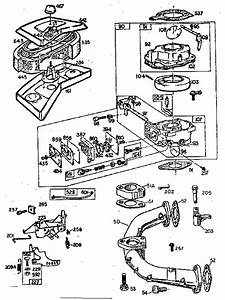 Manifold And Carburetor Assembly Diagram  U0026 Parts List For