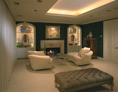 Cove Lighting  Traditional  Bedroom  Houston By