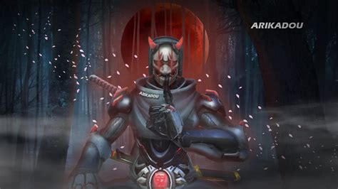 Genji Becomes Oni Overwatch Youtube