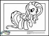 Coloring Pony Fluttershy Twilight Pick Pink Colors Yellow Dominant sketch template