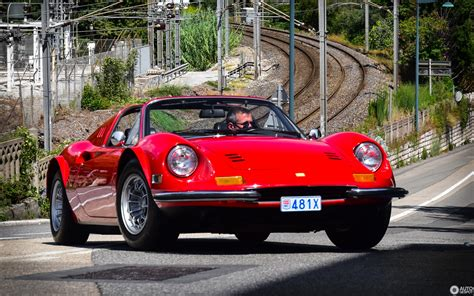 Once considered a lesser ferrari due to its mere 6 cylinder engine, the lovely shape and flowing lines of this beauty seems to get better with age. Ferrari Dino 246 GTS - 11 December 2018 - Autogespot
