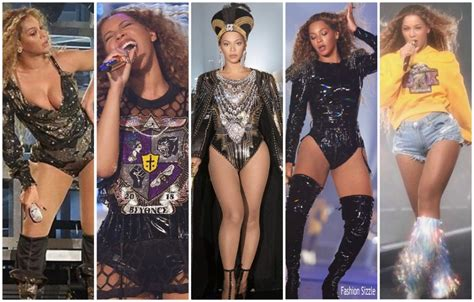 Beyonce Knowles In Custom Balmain @ Coachella - Fashionsizzle