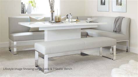 corner bench dining table set 5 seater left hand corner bench and extending dining table