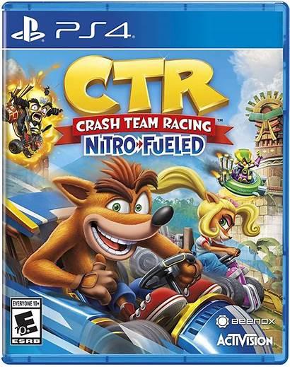 Crash Racing Nitro Team Fueled Ctr Ps4