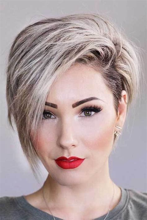 fresh layered short hairstyles for round faces crazyforus 17 more fresh layered short hairstyles for round faces crazyforus