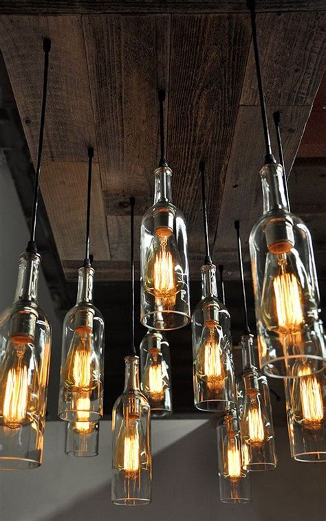 wine bottle chandelier 40 gorgeous images to reuse wine bottle into diy projects