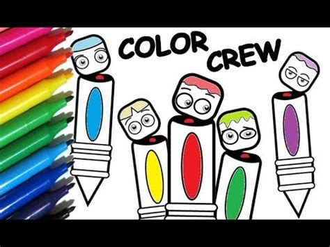 Coloring Crew by Coloring Pages Color Crew How To Paint Color Crew S