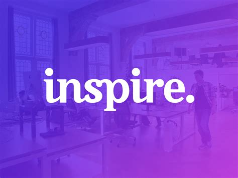 Inspire. by Paul von Excite on Dribbble