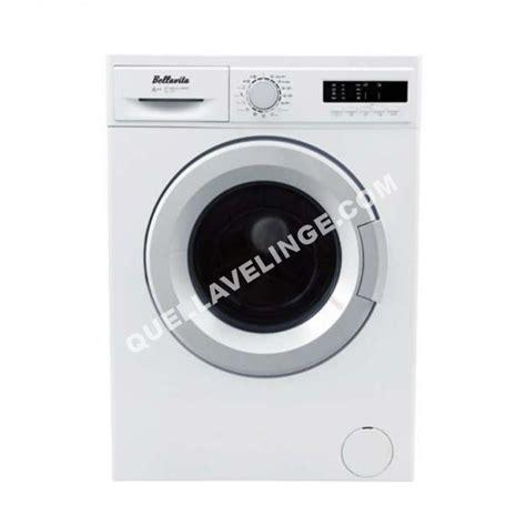 lave linge bellavita lave linge lf 1206 a wvet au meilleur prix