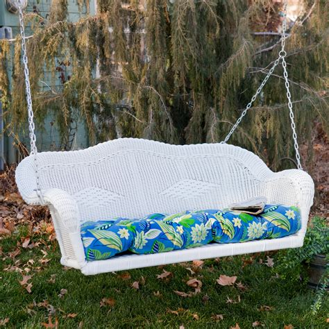 porch swing with cushions blazing needles all weather outdoor porch swing cushion