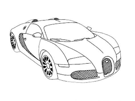 supercar drawing bugatti veyron super sport drawing