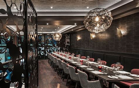 Sumptuous, Yet Intimate Design Scheme Exhibited By M Restaurant In London