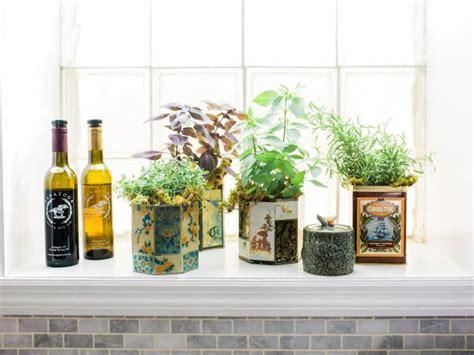 Indoor Windowsill Garden by 5 Indoor Herb Garden Ideas Hgtv S Decorating Design
