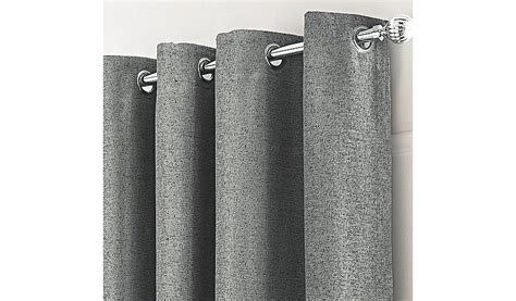 charcoal textured chenille curtains home garden george