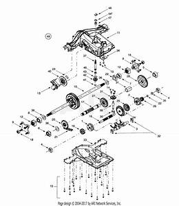 Mtd 14av808p016  2001  Parts Diagram For Transmission Assembly