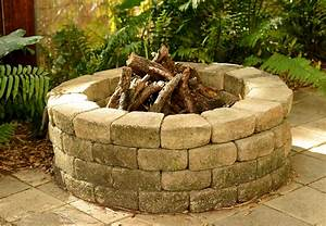How, To, Build, A, Stone, Fire, Pit