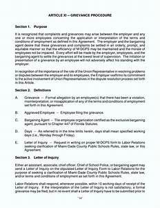 grievance template letter employee template update234 With template for grievance letter